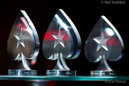 PokerStars.com EPT Barcelona 50K Super High Roller trophies