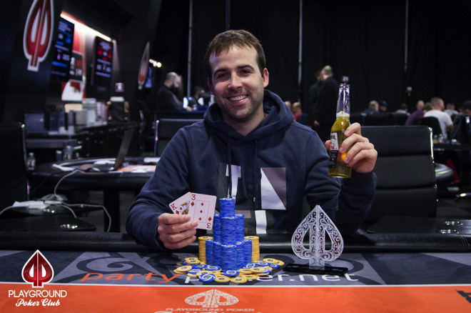 Playground Poker Fall Classic Comes to an End; Pascal Lefrancois Wins High Roller for... 101