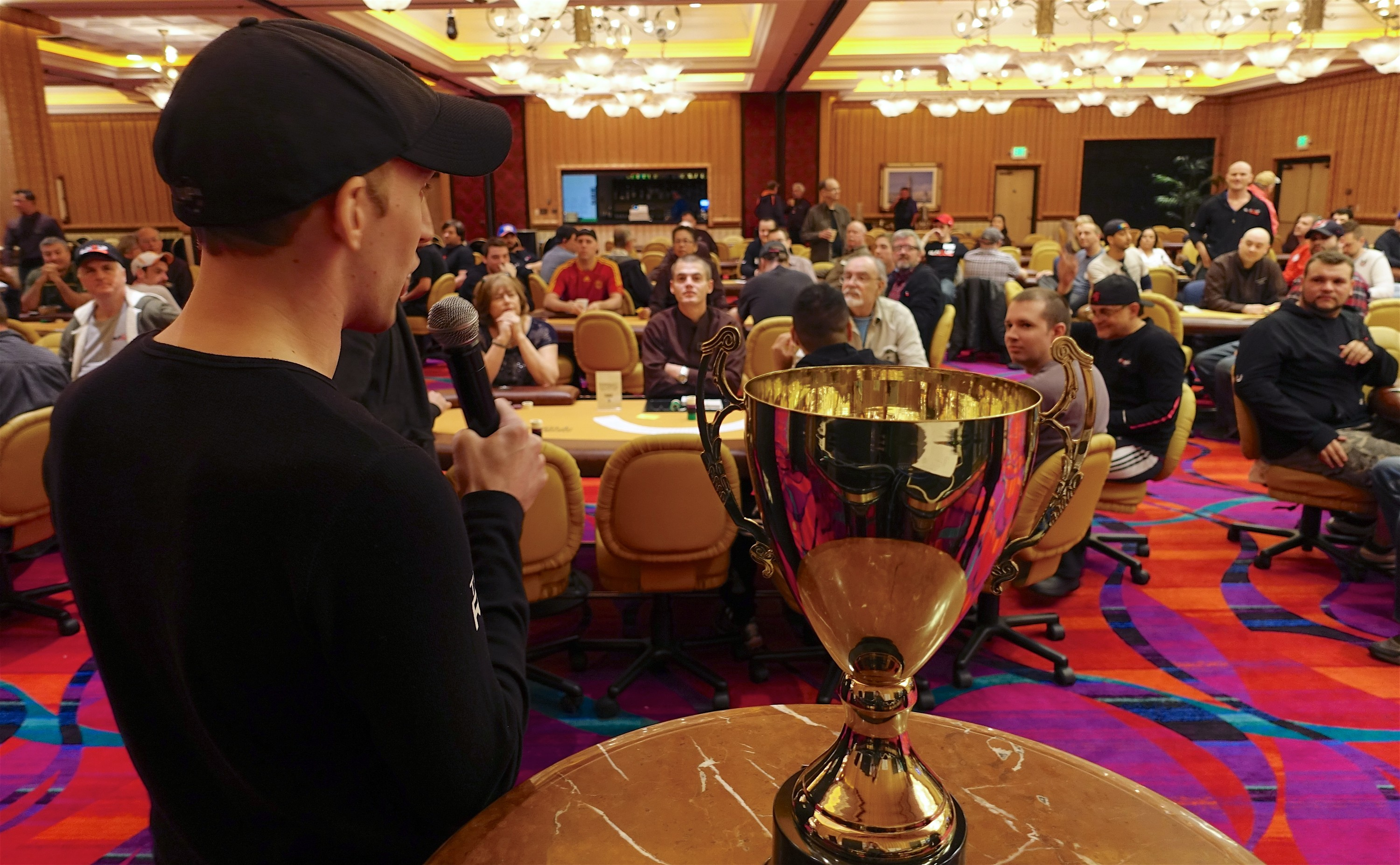 Jason Somerville intros the first event