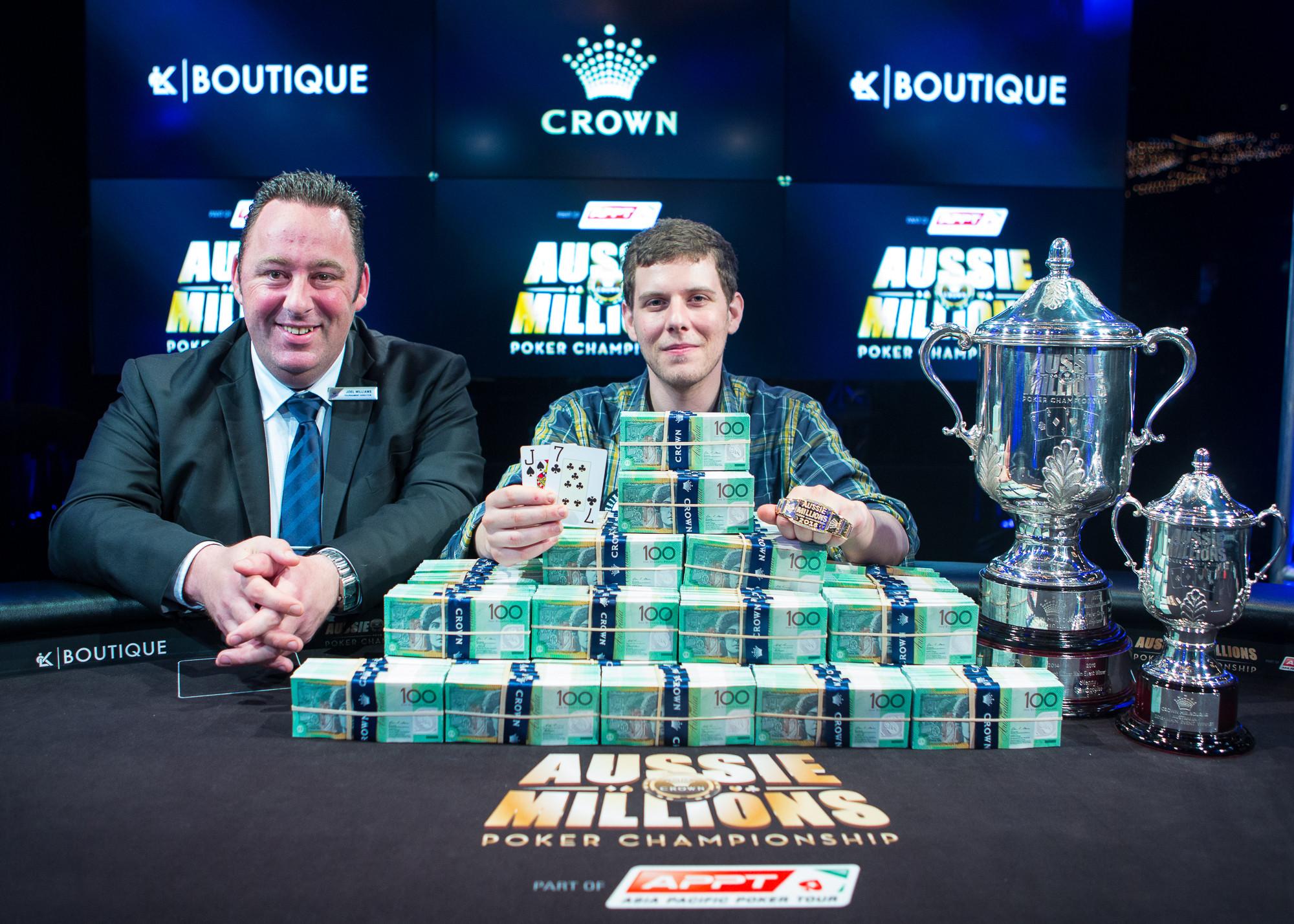 Ari Engel Wins the 2016 Aussie Millions Main Event