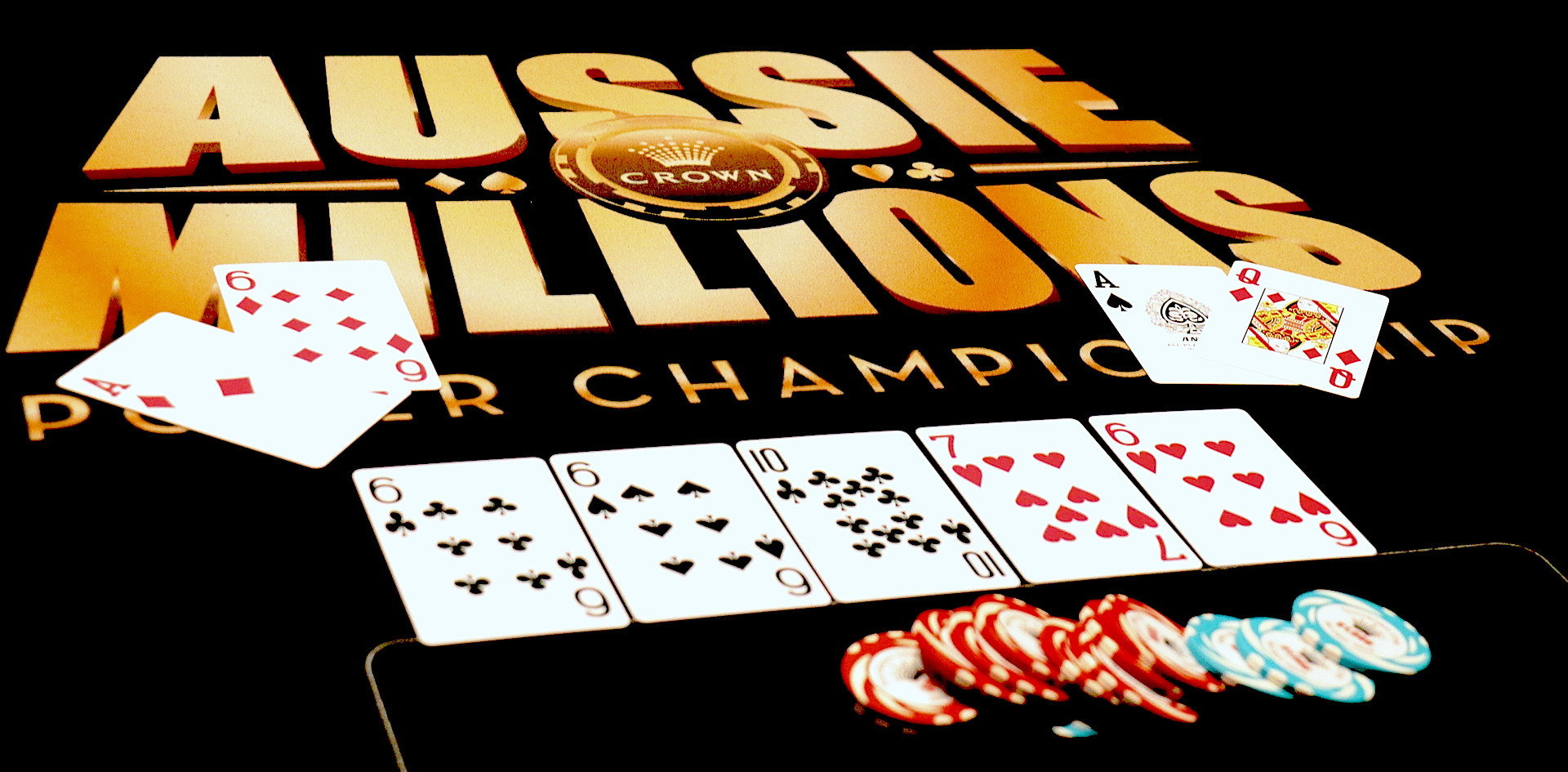 Double up at the Aussie Millions