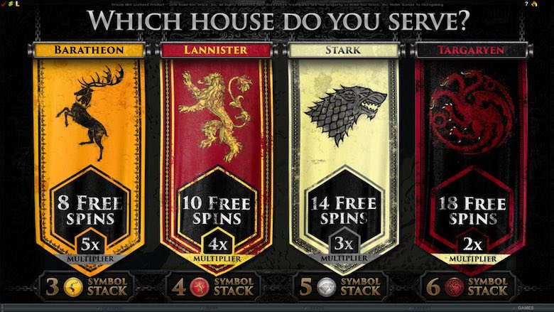 Game of Thrones Free Online Game for Real Money