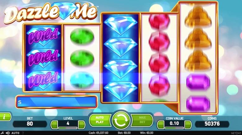 Dazzle Me Online Slots Free Game