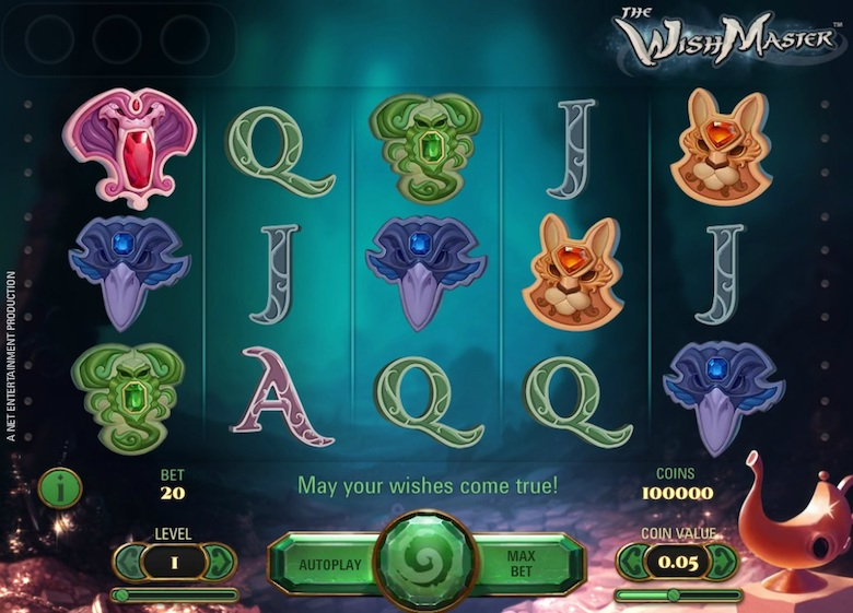 The Wishmaster Online Slots Free