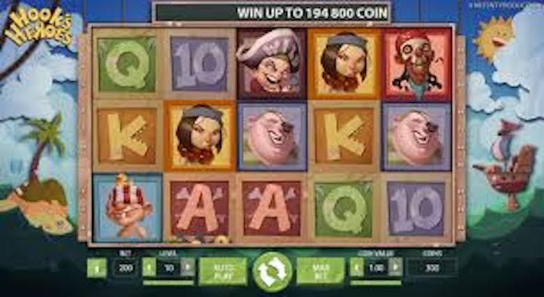 Hook's Heroes Free slots game