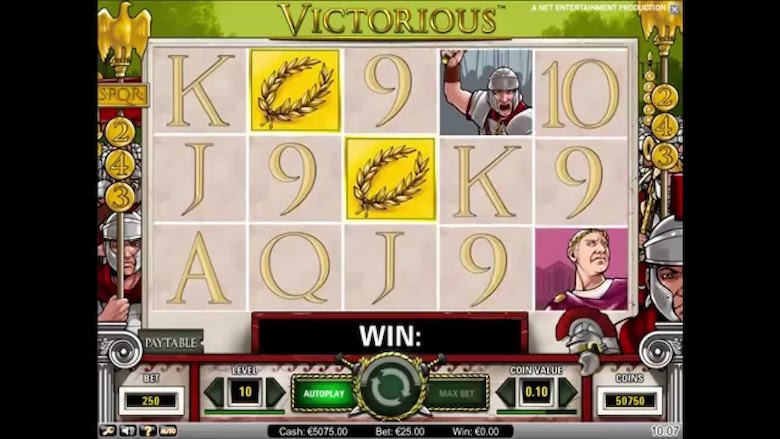 Victorious Online Slots is Free at PokerStars Casino
