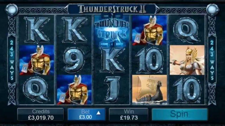 Thunderstruck II  Free Online Slots