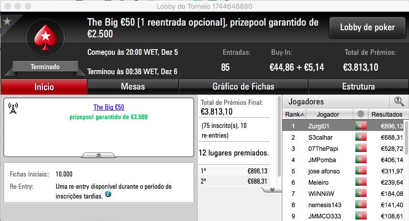 07ThePapi Vence The Big €100 PokerStars.pt & Mais 103