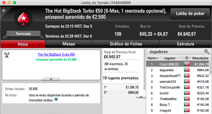 07ThePapi Vence The Big €100 PokerStars.pt & Mais 102