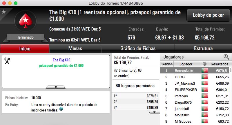 07ThePapi Vence The Big €100 PokerStars.pt & Mais 104