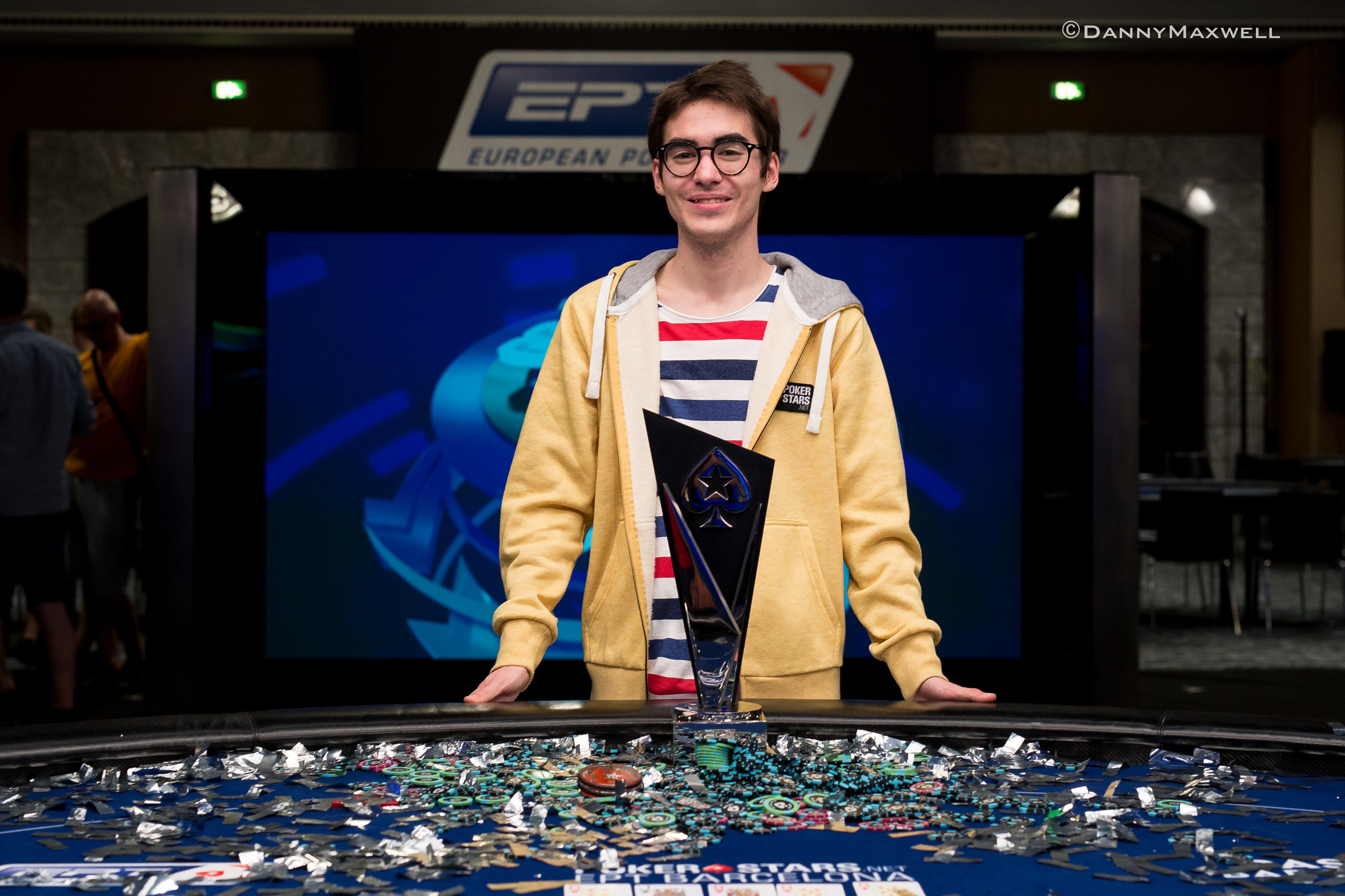Sebastian Malec - EPT 13 Barcelona Main Event Winner