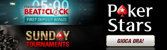 promozioni poker online Pokerstars