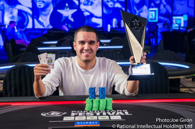 Jason Acosta Wins the Inaugural PokerStars Festival New Jersey Main Event