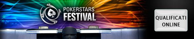 pokerstars festival qualificazioni