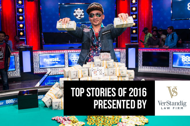 Qui Nguyen Wins the 2016 World Series of Poker Main Event