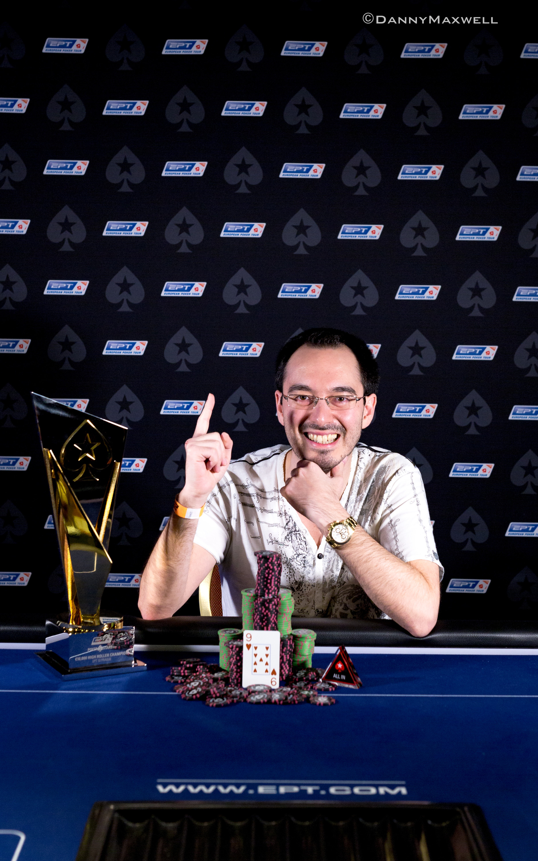 William Kassouf EPT Prague 2016 €10,300 High Roller Winner