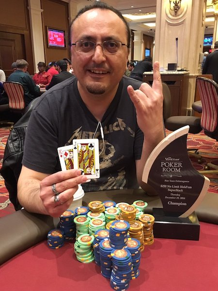 Sandro Fortunato 90º no Evento #11 0 NL SuperStack 5,000 GTD do New Year's... 101