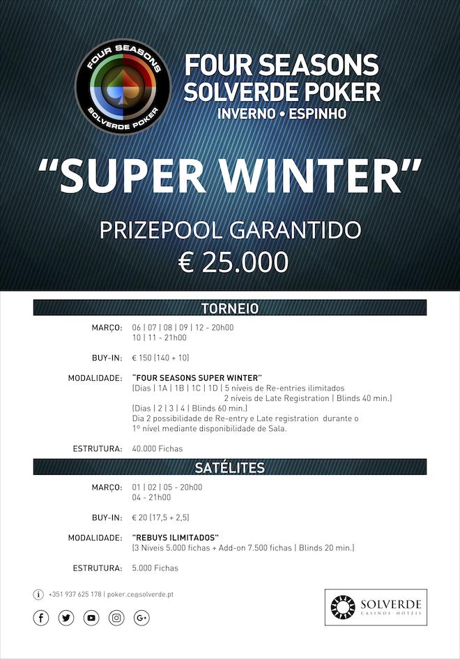 Four Seasons Solverde Poker Inverno Casino de Espinho Arranca a 9 de Janeiro 102