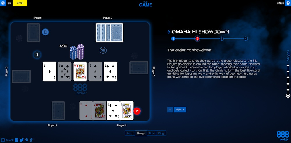 "Get Introduced to Poker by Playing ""The Game"" at 888poker 102"