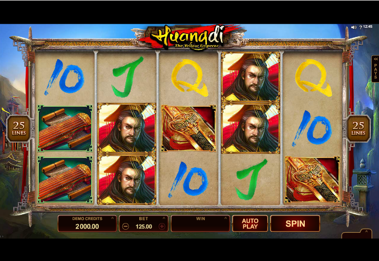New Slots game: Huangdi the Yellow Emperor by Microgaming