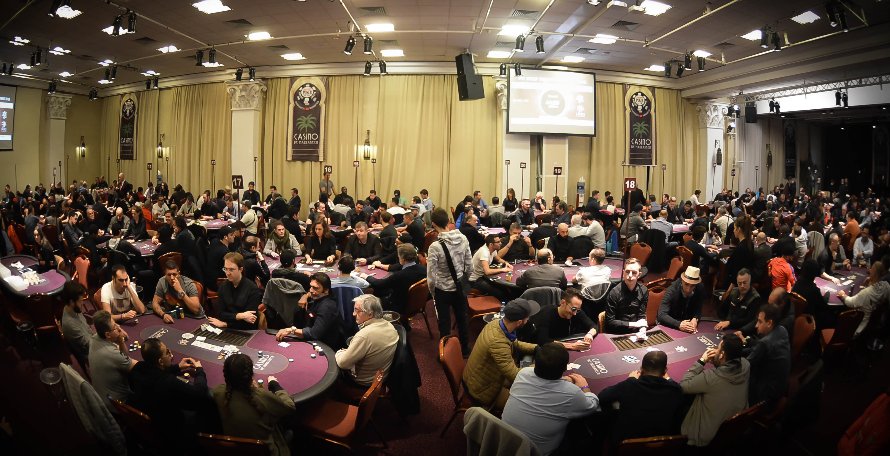 Alexandre Viard Claims WSOPC Lead in Record Day 1b in Marrakech 101