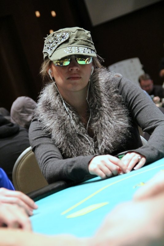 Renata Colache in Event #10 at the 2014 Borgata Winter Poker Open