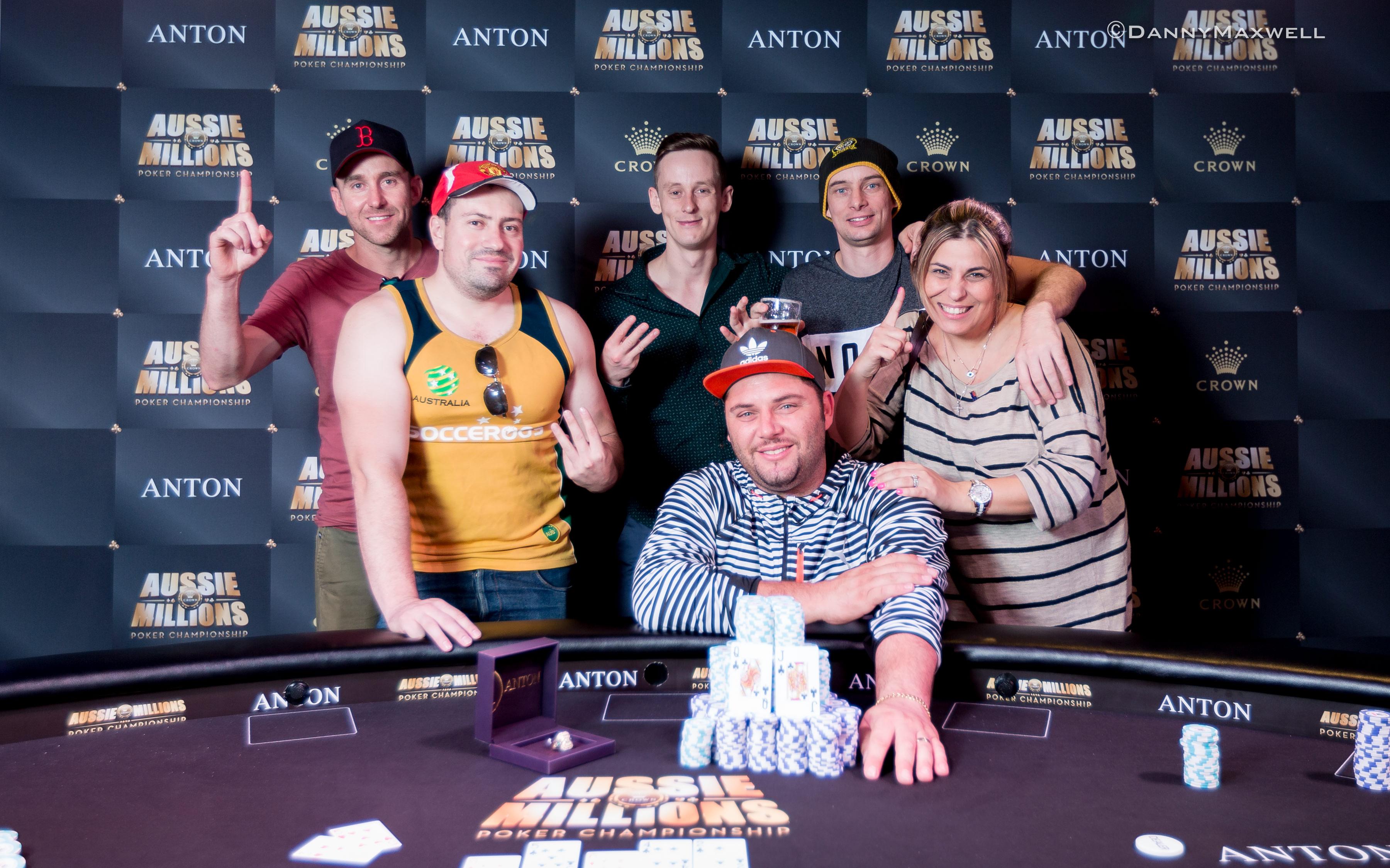 George Psarras Wins Aussie Millions Event #17 101