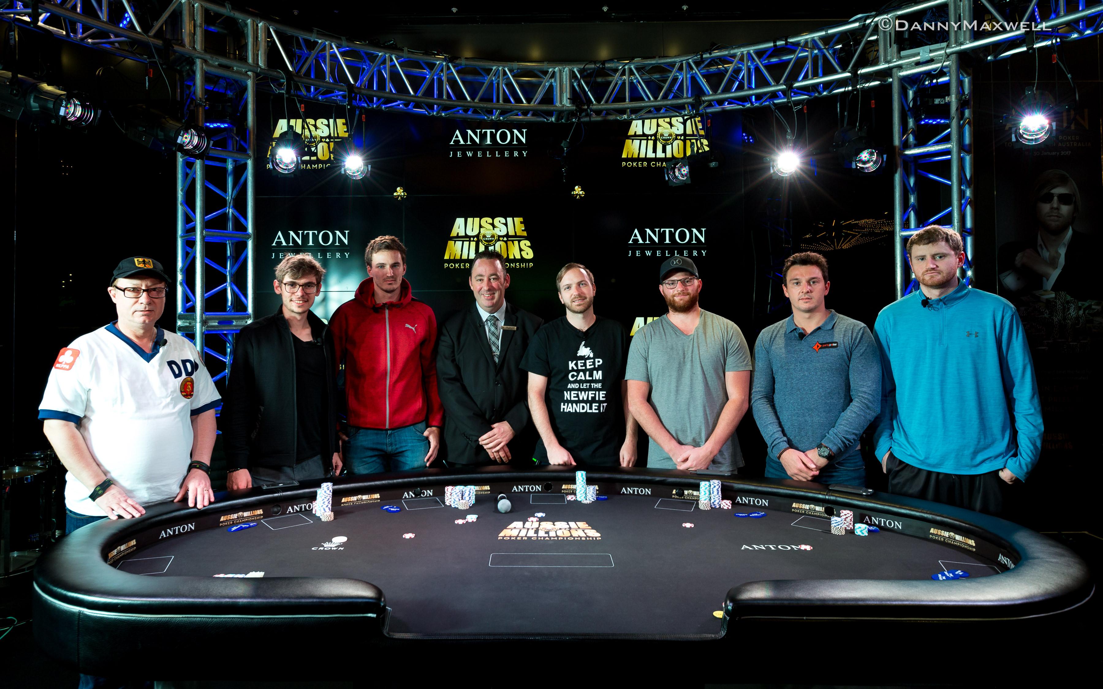 Nick Petrangelo Wins the Aussie Millions ANTON Jewellery 0,000 Challenge for AUD2,000 101