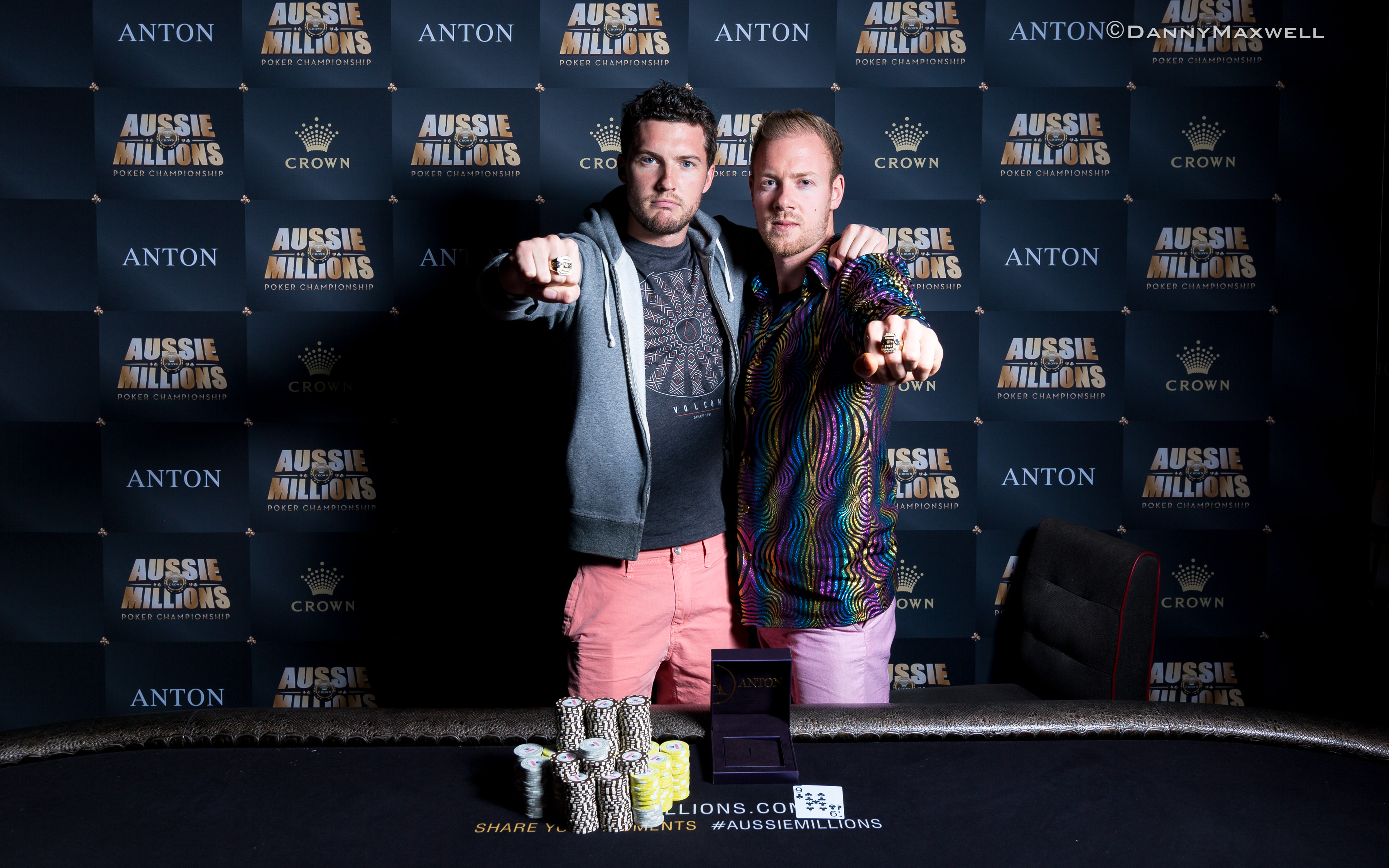 Terry Schumacher Beats David Yan to Win Aussie Millions Short Handed Event (AUD6,305) 101