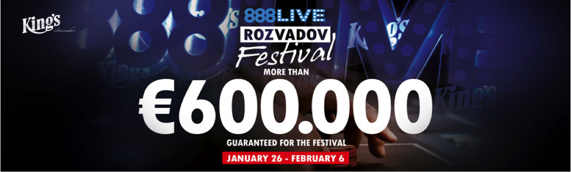 888live Rozvadov: Nadi Yusuf Leads 49 Players from Final Flight of Opening Event 101