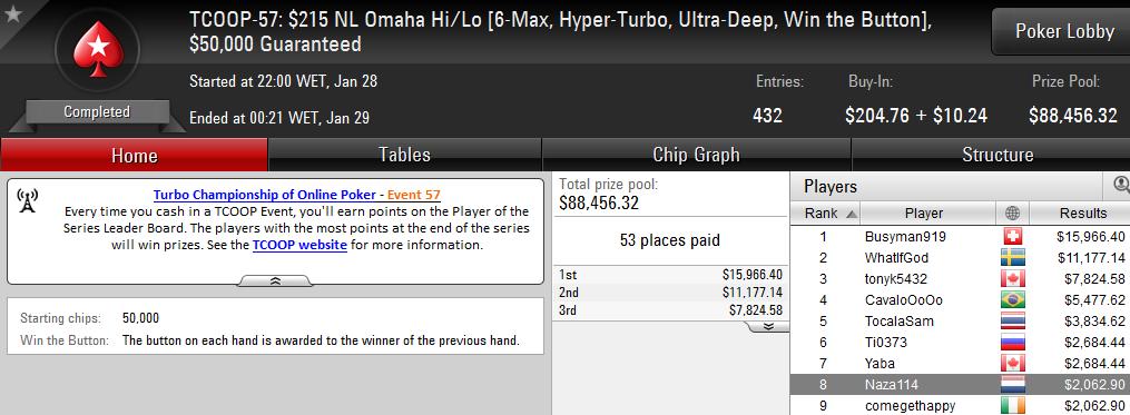 Naza114 e Mojo_9_Iggy Amealham na PokerStars.com 101