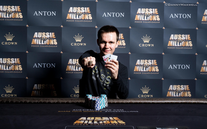 Mikita Badziakouski - 2017 Aussie Millions $50,000 NLHE Shot Clock Six Max Winner