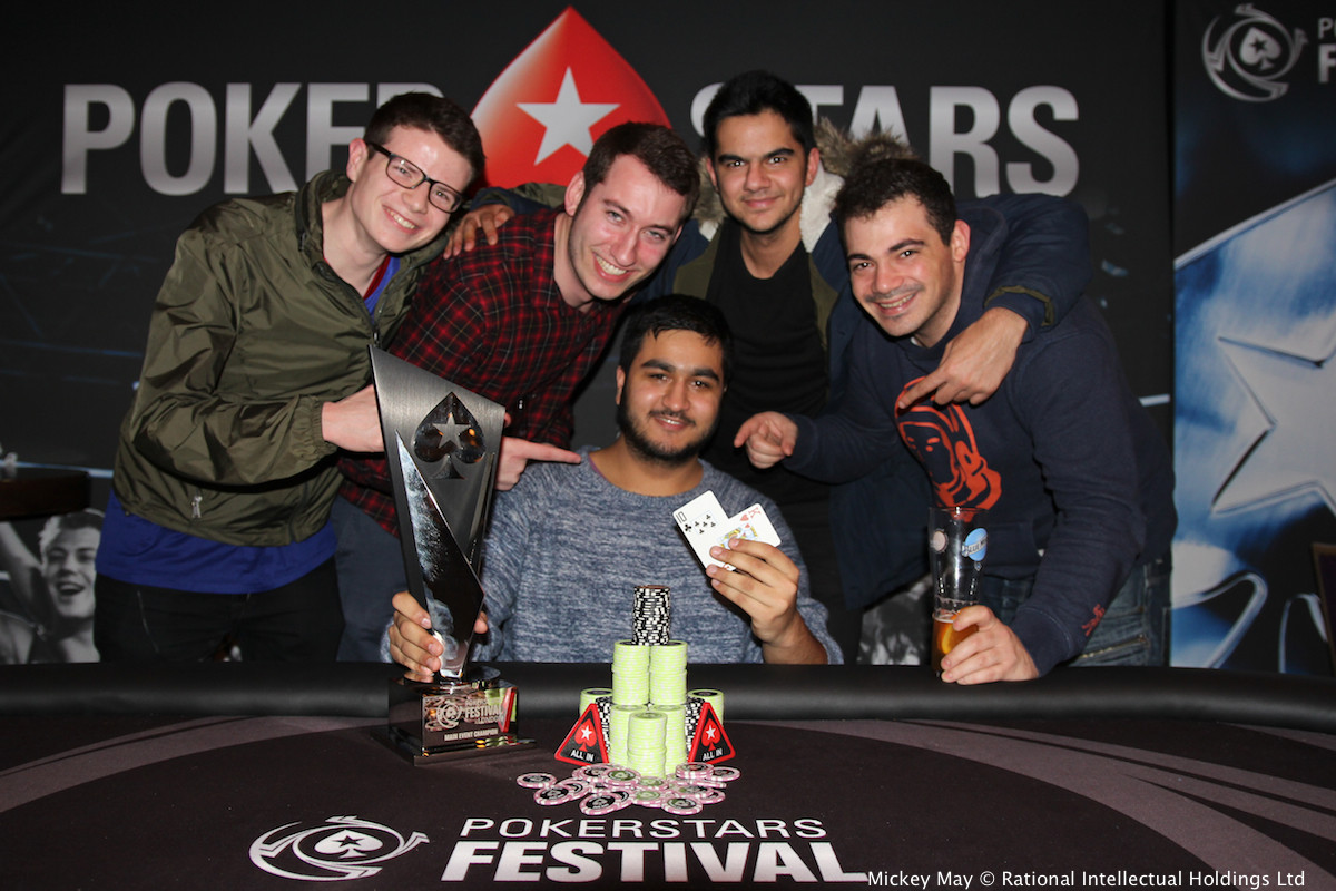 Rehman Kassam gana el PokerStars Festival Londres 2017