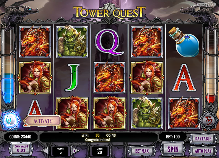Free Vegas Slots: Tower Quest