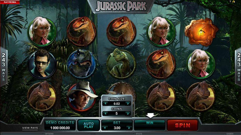 Free Vegas Slots: Jurassic Park