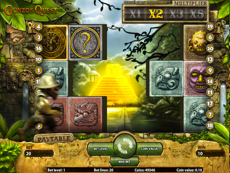 Free Vegas Slots: Gonzo's Quest