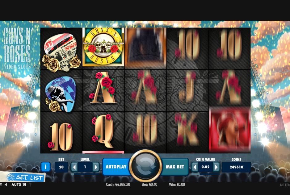 Free Vegas Slots: Guns n Roses