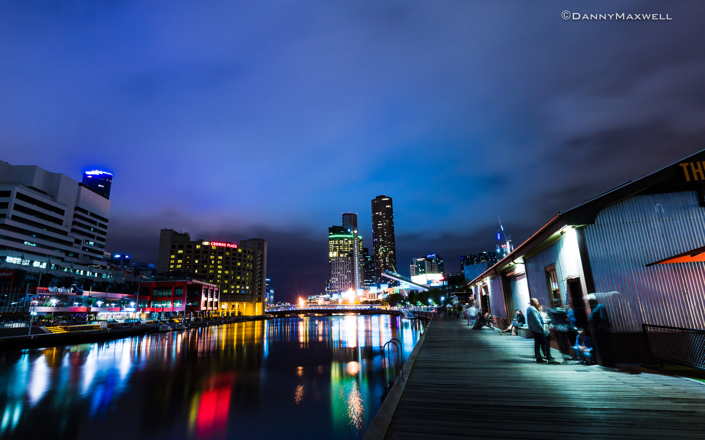 Crown Casino - Melbourne Skyline
