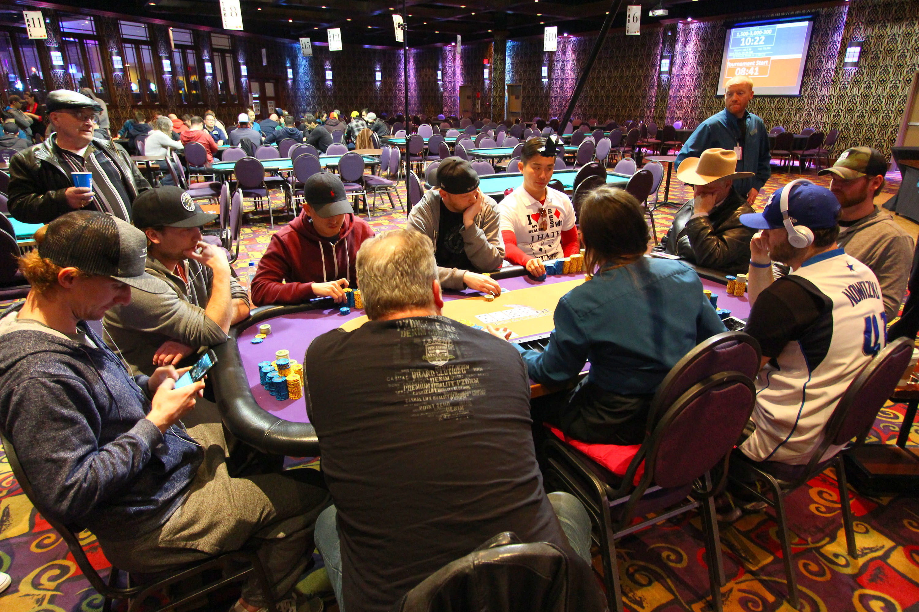 Winter Super Stack Event #1 final table