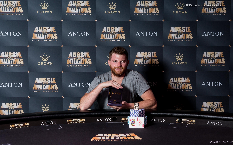 Nick Petrangelo - Aussie Millions ANTON Jewellery $100,000 Challenge  Winner 201