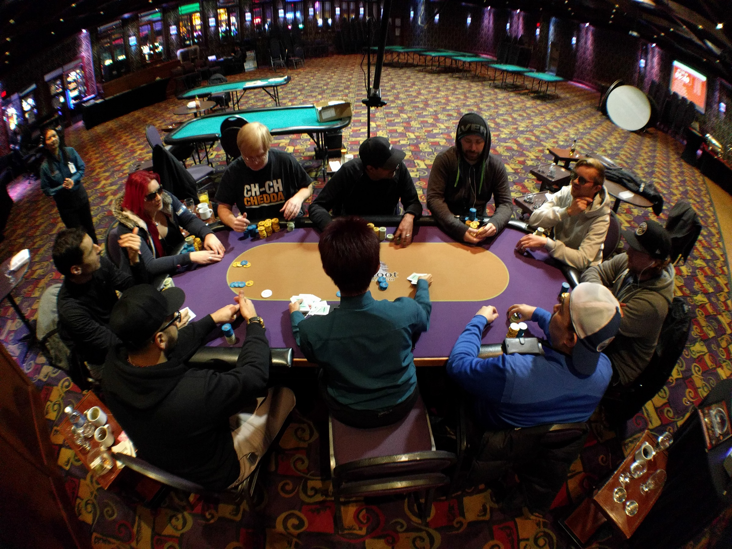2017 Winter Super Stack Main Event final table