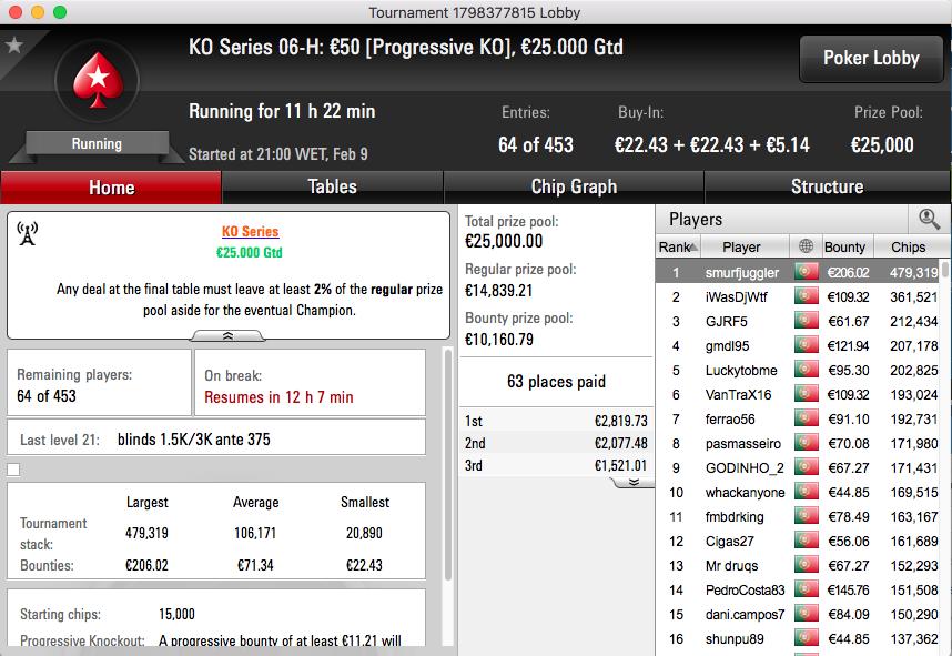 KO Series: smurfjuggler e Nemochips77 Lideram Evento #5 High & Low 102