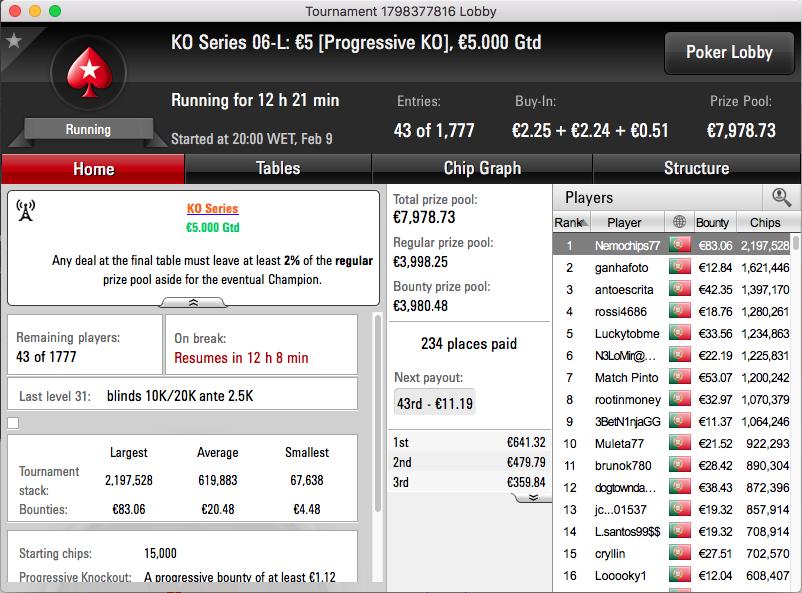 KO Series: smurfjuggler e Nemochips77 Lideram Evento #5 High & Low 101