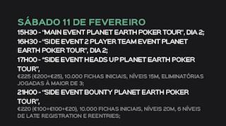 Nuno Andrade Lidera Dia 1 Main Event Planet Earth Poker Tour Estoril 101