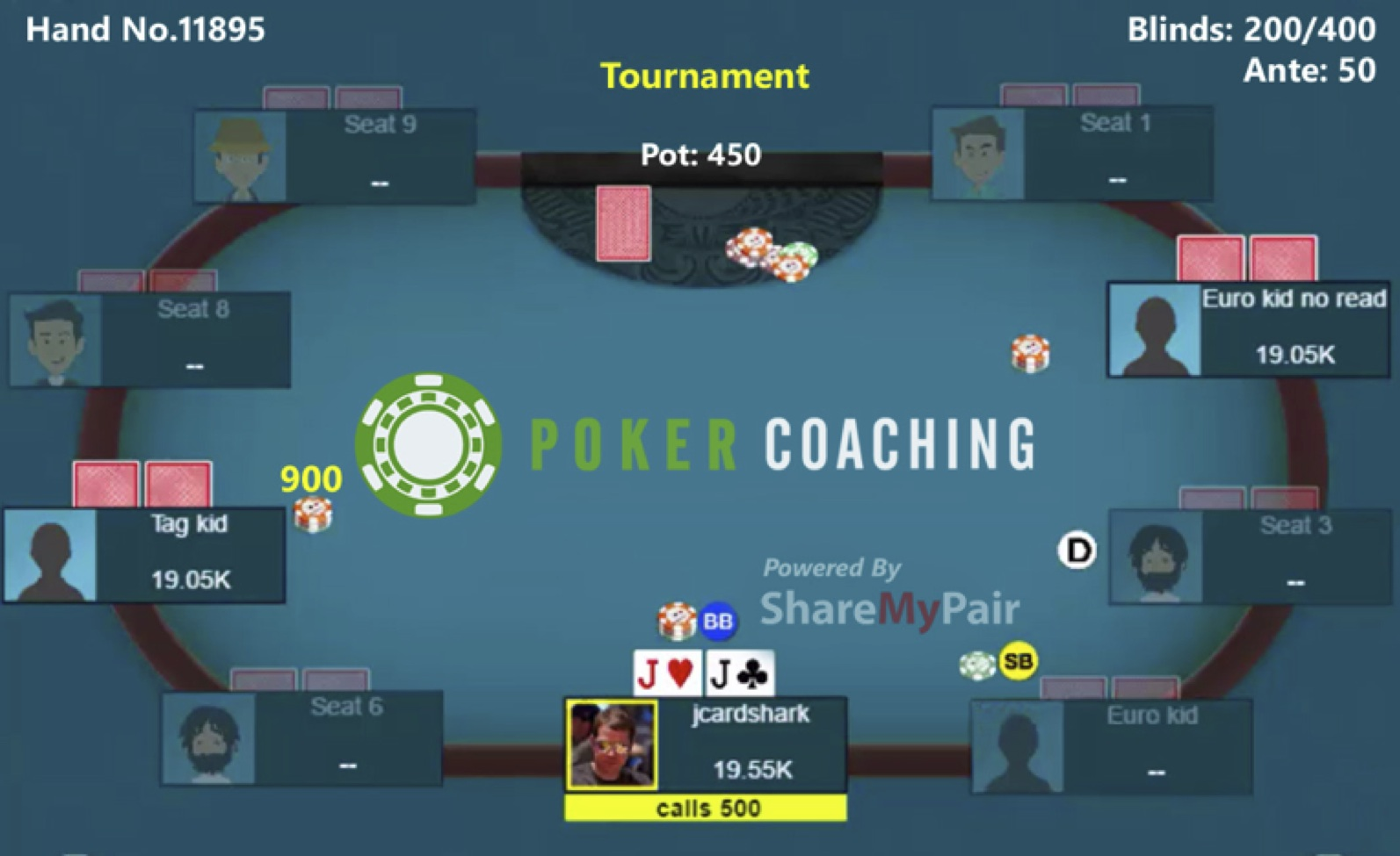 Poker Coaching with Jonathan Little: Playing Pocket Jacks 101
