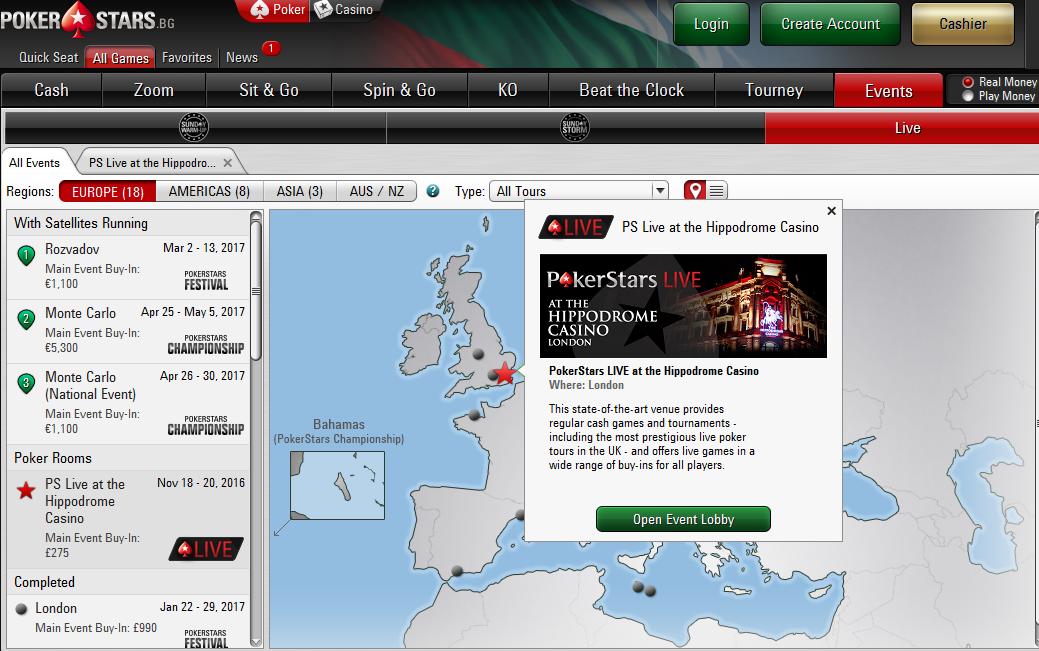 Сателитите може да намерите в графа Live Events тази неделя