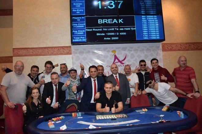 Nuno Ribeiro (3º) e Ricardo Barbosa (9º) na FT Main Event Agadir Poker Festival 101