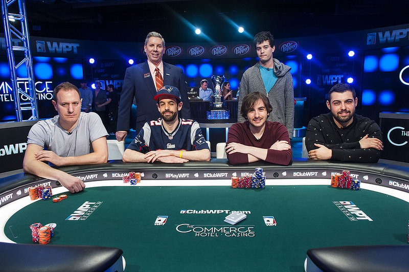 WPT LA Poker Classic 2017 Main Event финална маса