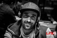 Fausto Silva e João Gonçalves no Dia 2 do Megastack Laroush Poker Series Madrid 101
