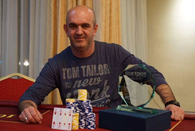 Marinić Igor Pobjednik Poker BOSS Main eventa. 101